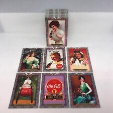 COCA-COLA SUPER PREMIUM (Collect-A-Card/1995) Silver Foil Trading Card Set COKE