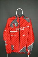 Rare Cycling Jersey Vintage 80s Long Sleeve Coca Cola Size L