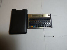 Hp 12C Financial Calculator with leather pouch.
