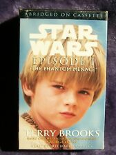Star Wars / Episode 1 The Phantom Menace Audiobook 1999 3X cassette