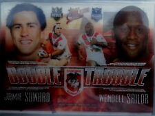 St George Illawarra Dragons Original Single NRL & Rugby League Trading Cards