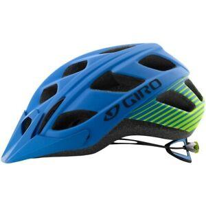 Giro Hex MTB Helmet - Blue Lime Green - Sizes S, L