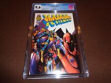 Onslaught: X-Men #1 * CGC 9.6 * Ultra Rare White Variant Edition * Marvel Comics