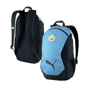 Puma Unisex Manchester City FINAL Backpack Rucksack - Sky Blue