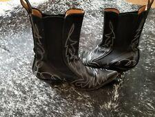 The Old Gringo Ladies Black Boots Sz 7