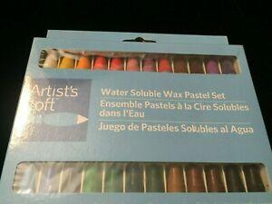 NEW Artist's Loft Water Soluble Wax Pastel Set 24 Pc.