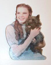 "Vintage 1997 Wizard of Oz Dorothy and Toto Die-Cut Fridge Magnet 3"" x 4"""