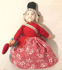 Topsy Turvy Doll Alice in Wonderland Flip Doll Red Queen Mad Hatter Rabbit