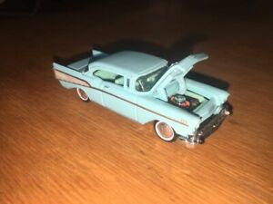 RACING CHAMPIONS 1:64 SCALE 1957 CHEVY CLASSIC COUPE HARDTOP!