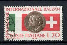 ITALIA 1962 SG # n. 1083 INT. Balzan Federazione USATO #A 40242
