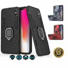 iPhone XR case with ring holder magnetic kickstand cover rugged TPU protective