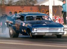 """Jungle Jim"" Liberman 1970 Chevy Nova NITRO Funny Car PHOTO! #(4)"