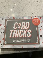 Card Tricks Game & Booklet - Learn How to Do Card Tricks! New