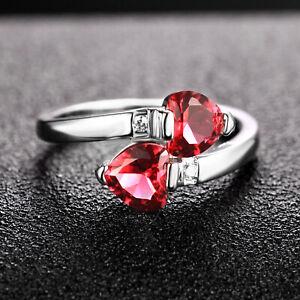 Handmade 2.25 ct Ruby   Size US 7 14K White Gold Ring CM193