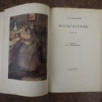 1935 ACADENIA Воскресение роман- Толстой/ Пастернак RESURRECTION Tolstoy RUSSIAN