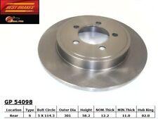 Disc Brake Rotor fits 2002-2007 Mercury Mountaineer  BEST BRAKES USA