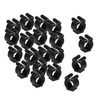 20x Pool Cue Fishing Rod Clips Clamps Storage Rack Billiards Cue Holder 17mm