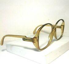 True Vintage L.Brogan Extra Large Women's Yellow Eyeglass Frame Canadau is