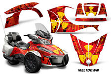 AMR Racing Can Am BRP RT-S Spyder Graphic Kit Wrap Roadster Decals 2014+ MLTDWN