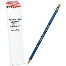 Prismacolor col-erase 20044 Blue Pencils, Box of 12