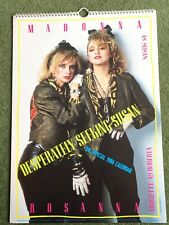MADONNA THE OFFICIAL1986 CALENDAR DESPERATELY SEEKING SUSAN