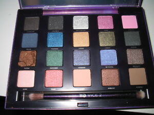 NEW URBAN DECAY Vice 2 Eyeshadow Palette Limited Edition DAMAGED