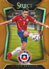 2015 Panini Select Soccer Base Common Orange Parallel Variation #d /149 - (1-50)