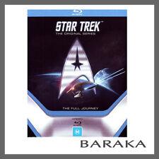 STAR TREK COMPLETE the ORIGINAL SERIES SEASONS 1, 2 & 3 Blu Ray Box Set RB
