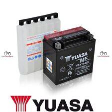 BATTERIA DE MOTO YUASA YTX14-BS 12V 12Ah KYMCO XCITING ME 500 2006 2007 2008