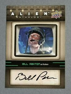 Bill Paxton Rare Certified Autograph 2016 Upper Deck Alien Anthology #SA-BP Auto