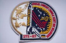Un écusson de STS Mission 87 NAVETTE COLUMBIA CA 9x8,5 cm