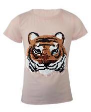 T-shirts et débardeurs rose à motif Graphique à longueur de manches manches courtes pour fille de 2 à 16 ans
