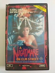 A Nightmare On Elm Street 1 - Original VHS 1986 Freddy Krueger!