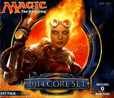 MAGIC THE GATHERING MTG CORE 2014 FAT PACK FACTORY SEALED 9 PACKS NEW