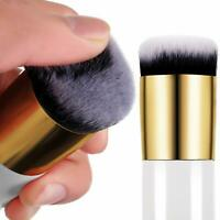 Large Round Head Buffer Foundation Makeup Brush Wooden Handle Powder Blusher New
