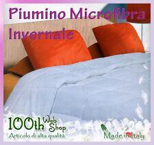PIUMINO PIAZZA E MEZZA INVERNALE MICROFIBRA 200X200 200 X 200  PESANTE DXPI1PM