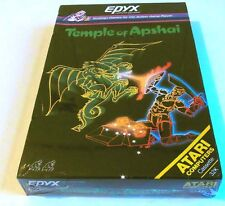 Atari XL : Temple of Apshai - Epyx 1982 - Kasseten Version