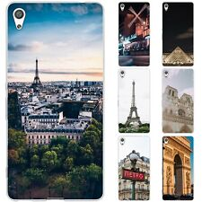 Dessana Paris TPU Silicone Protective Case Case Pouch Cover for Sony