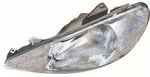 *NEW* HEADLIGHT LAMP (HALOGEN) for PEUGEOT 206 XR 10/1999 - 5/2003 LEFT SIDE LHS