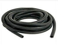 Black spiral conduit. Split / Non-split. Tube. Pipe. Cable wires. 6.5mm - 23mm..