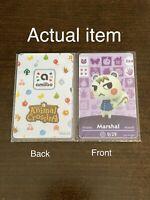 Marshal #264 Animal Crossing Custom Amiibo Card New Horizons ACNH. Fan Made