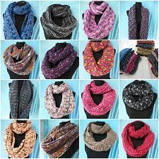 Wholesale Scarves lot of 12 winter and fall infinity scarf shawl wrap neckwarmer