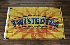 Twisted Tea Banner Flag 3x5 Hard Iced Tea Alcohol Bar Advertising Promotional