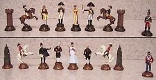 "Chess Set Pieces Battle of Waterloo Napolean vs Wellington 3"" Kings NEW"
