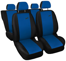 CAR SEAT COVERS  fit Vauxhall Vectra - XR black/blue Full set