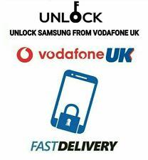 Unlock Code for Samsung Galaxy A10 A20 A20e A40 A50 A70 Vodafone Vodaphone UK
