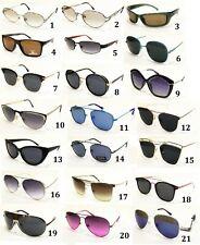 occhiali da sole uomo donna tondi a goccia quadrati rotondi specchio polarizzati