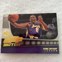 Kobe Bryant MVP Watch LA Lakers 2006-07 Upper Deck NBA Basketball Card MVP-K8