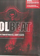 """VOLBEAT """"Live From Beyond Hell/Above Heaven"""" 3LP rotes Vinyl + Download sealed"""