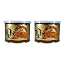 Grec MACEDONIAN HALVA WITH cacao, poids net 1 kg, tin can.